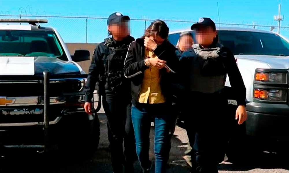 Detienen en BC a mujer que se dedicaba al tráfico de personas