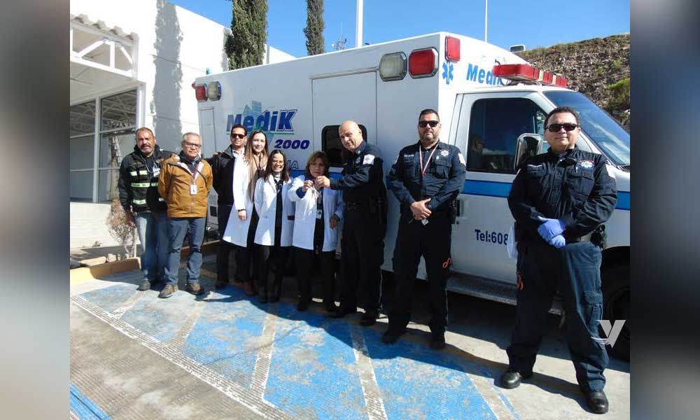 Realizan grupos de rescate en coordinación con la Secretaría de Salud del Estado