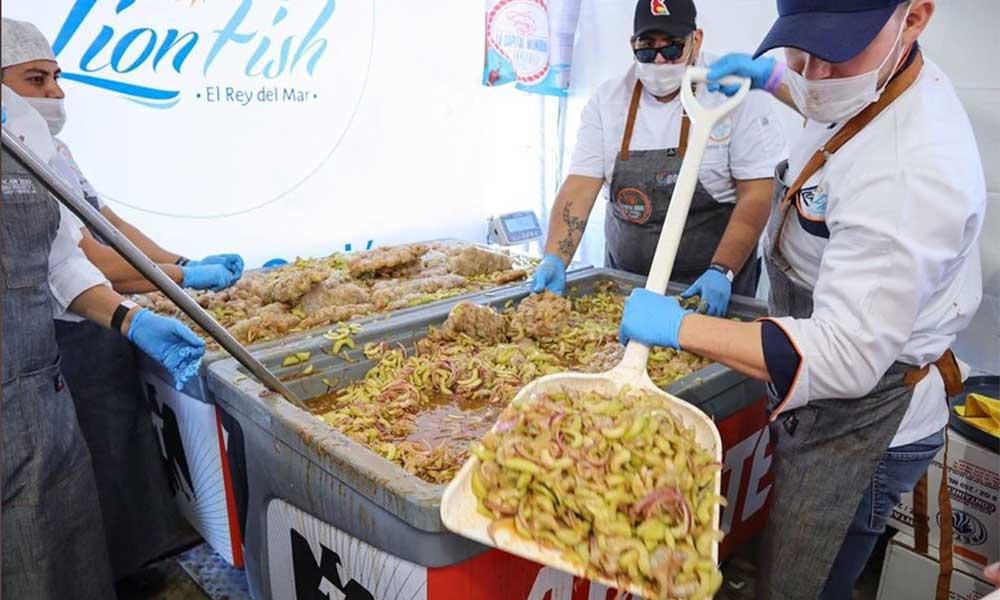 Restaurante de Tijuana gana el record al Aguachile más grande Baja California