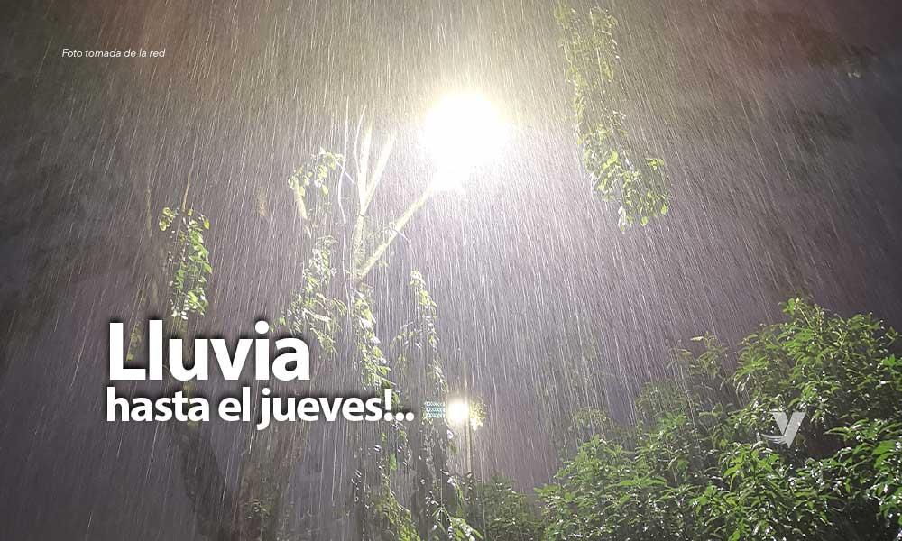 Lluvias esta madrugada y hasta el jueves en BC