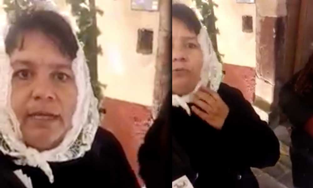 """(VIDEO) Señora asegura que """"Los cosméticos son el negocio del diablo"""", y se hace viral"""