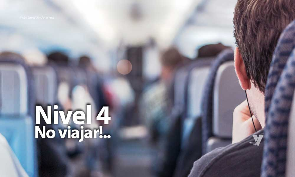 """""""No viajar"""": Estados Unidos eleva a nivel 4 su alerta de viaje por coronavirus"""