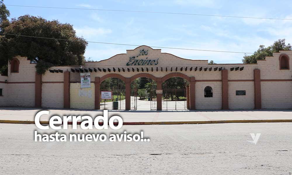 Cierran Parque Los Encinos y Tecarroca hasta nuevo aviso en Tecate