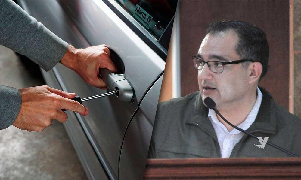 Propone Diputado incrementar la pena hasta de 15 años por robo de vehículo en BC