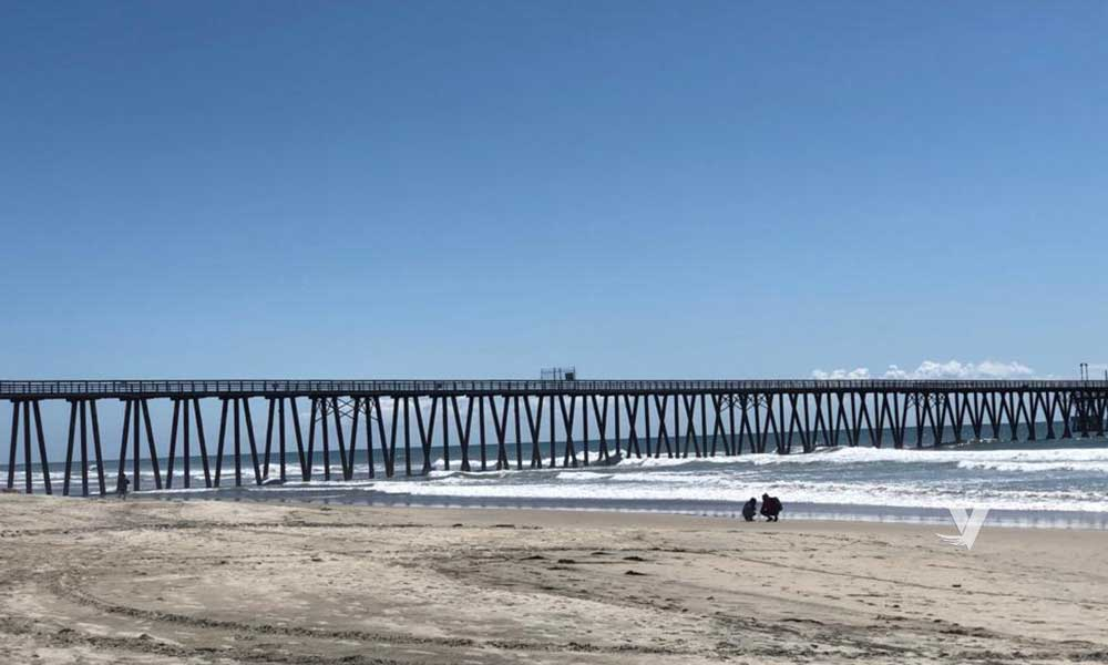 Gobierno de Playas de Rosarito determina el cierre de sus playas.