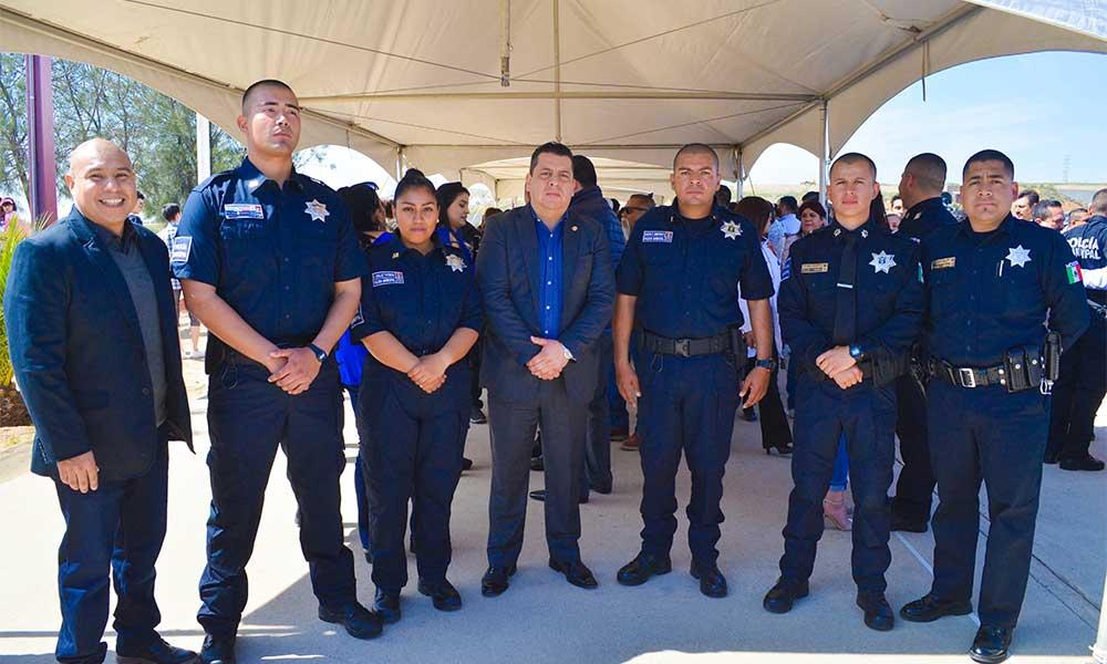 Se sumarán a la corporación cuatro nuevos oficiales de policía para Tecate