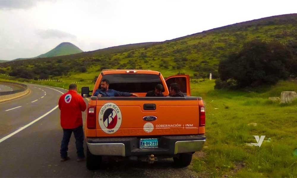 Rescatan a tres migrantes en Valle Redondo en Tecate