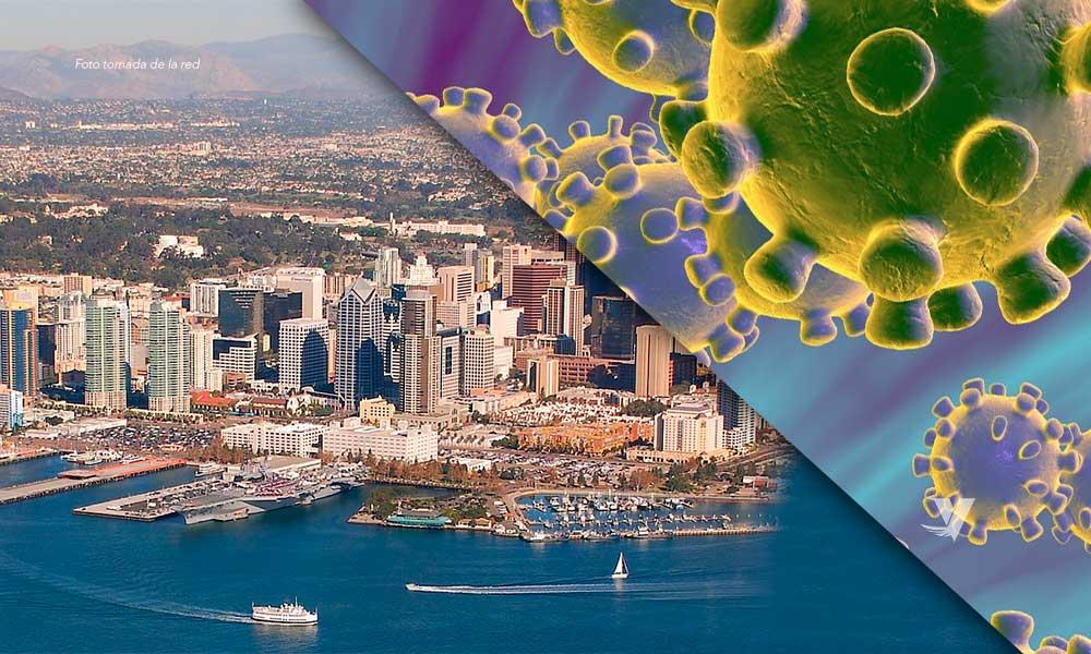Casos confirmados por coronavirus sube a 55 en San Diego