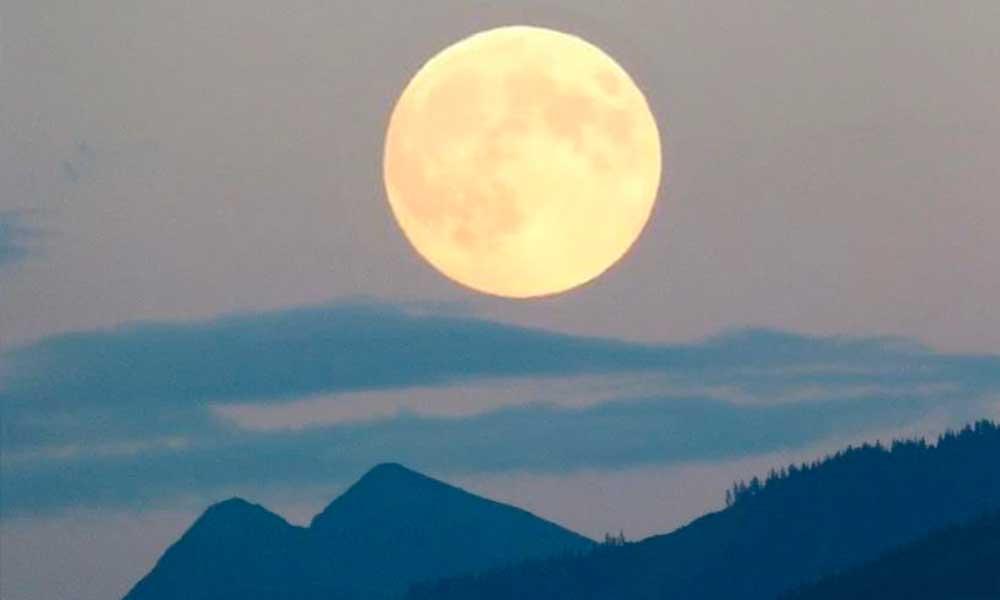 La última 'Súper Luna' del invierno se verá este lunes