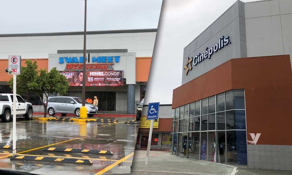 Continuarán abiertos Swap Meet Los Encinos y Cinepolis en Tecate