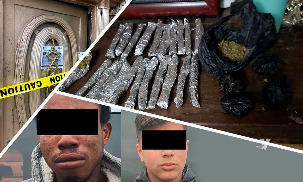 Desmantelan tiendita de droga, hay dos detenidos