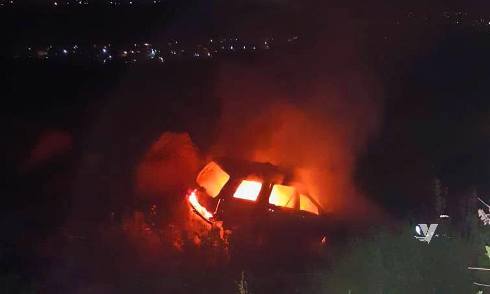 Accidente deja una persona calcinada en Tecate