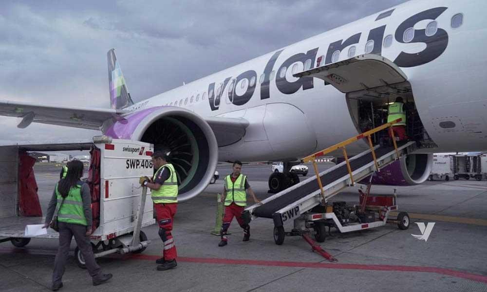 Apoya aerolinea Volaris en traslado de medicamentos contra el Covid-19