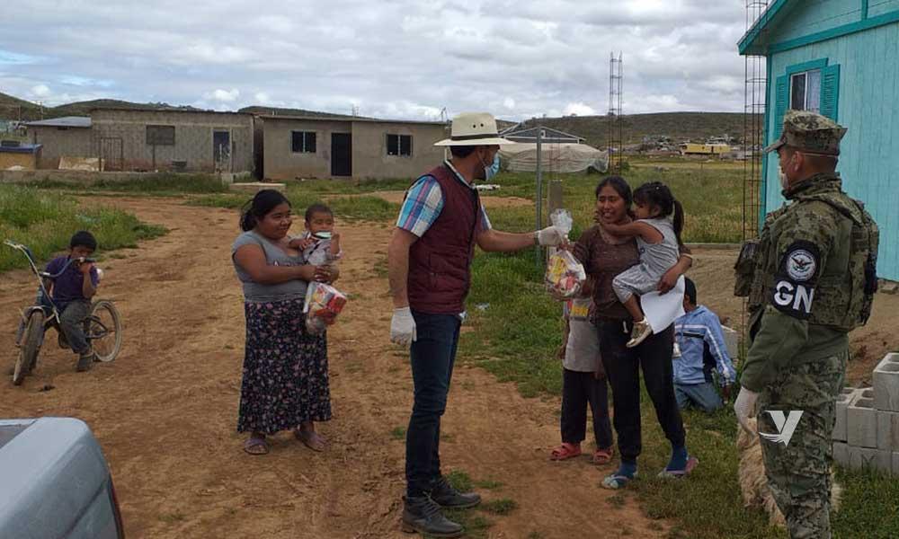 Gobierno de Baja California fortalece la entrega de apoyos alimenticios en el Estado