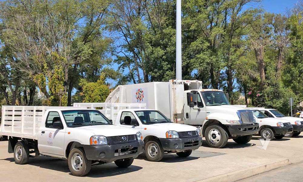 Entregan nuevas unidades de recolección de basura en Tecate