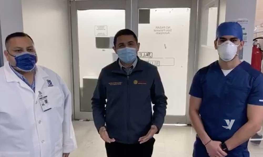 Secretario de Salud de BC visita el Hospital General de Tecate