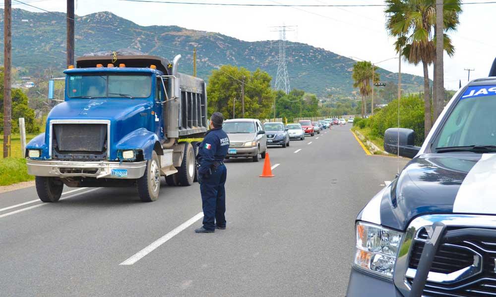 Filtro sanitario implementado en Tecate ha retornado a más de 2 mil vehículos