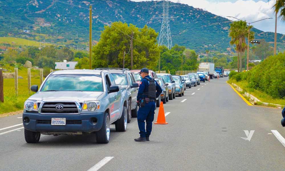 Implementan filtros de prevención sanitaria en Tecate