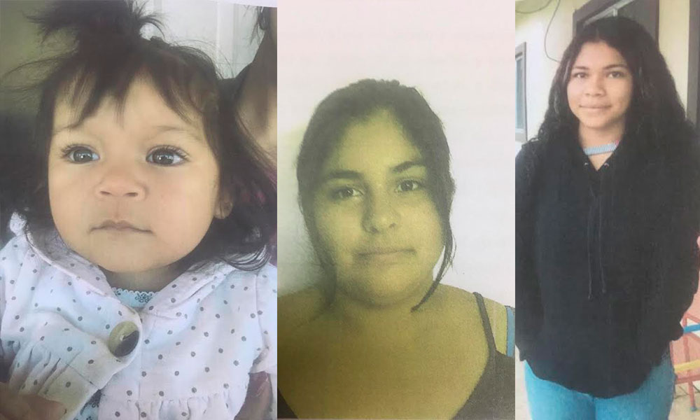 Cuatro menores de edad se encuentran desparecidas, estaban viviendo en una Casa Hogar