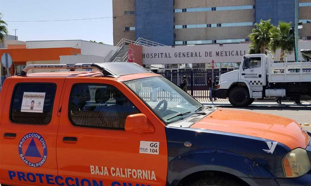 Realiza Gobierno de BC recorridos de supervisión en Hospitales por Covid-19 de Tijuana y Mexicali