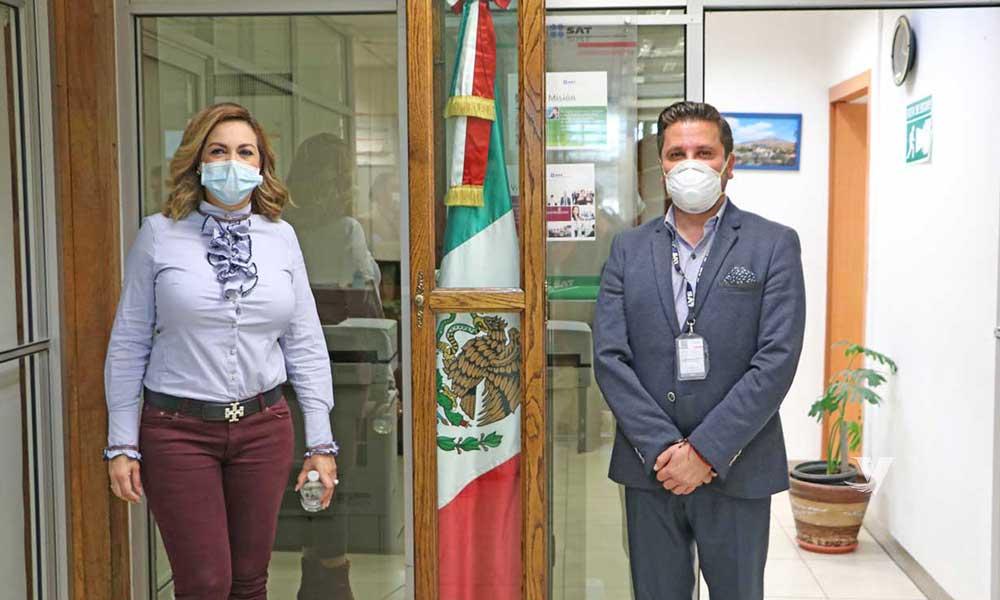 Se reúne alcaldesa Zulema Adams con administrador de Aduana en Tecate