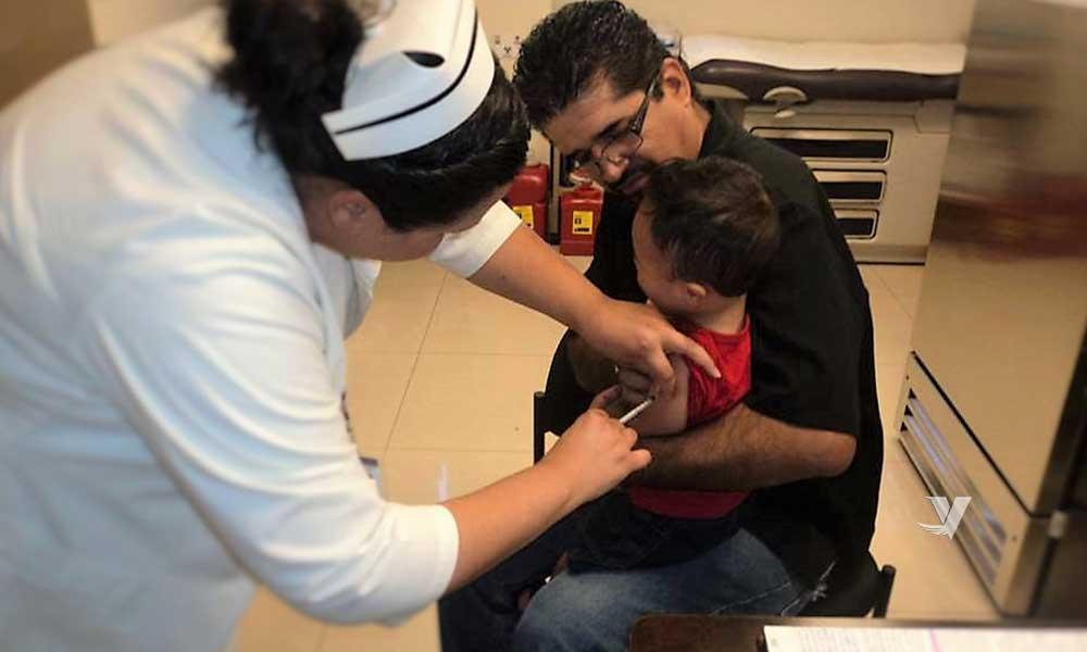 Invita Secretaría de Salud a vacunar niñas y niños