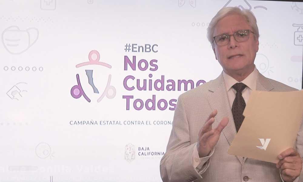 """""""Gobierno en Marcha"""" enfrenta con valentía la pandemia por COVID-19 en Baja California"""