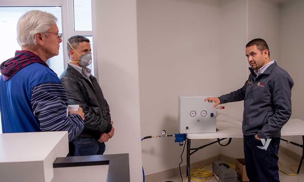Presentan prototipo de ventilador creado por mexicalenses