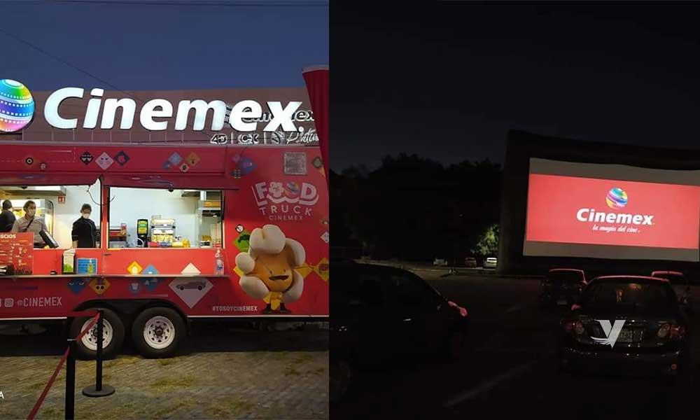 Cinemex instala primer autocinema en México