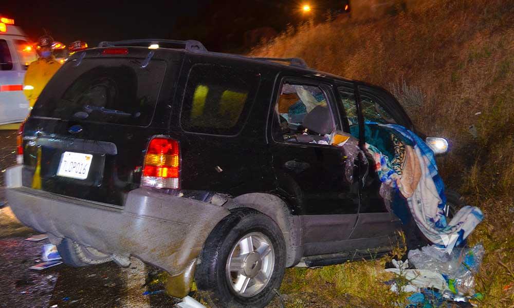 Accidente en carretera Tecate-Rumorosa deja una persona fallecida