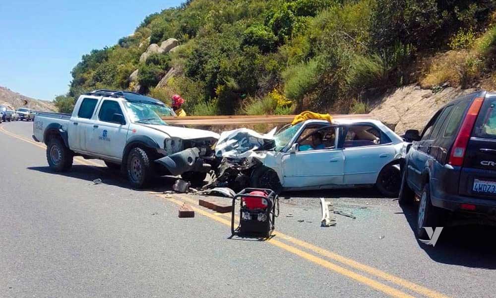 Accidente de transito deja 1 muerto y 3 lesionados