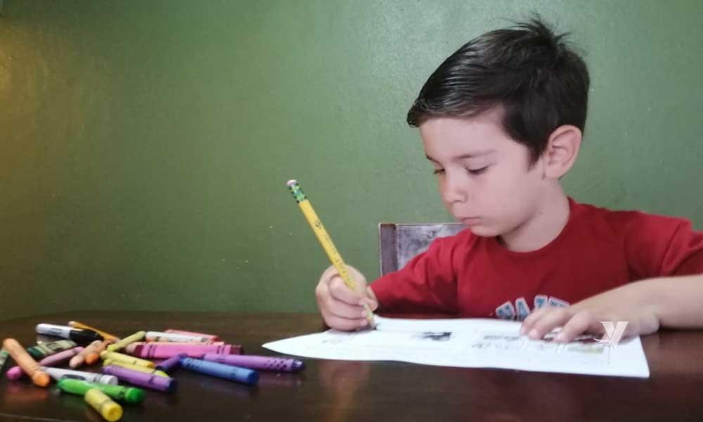 Continúa el apoyo a los alumnos de preescolar con Educación a Distancia