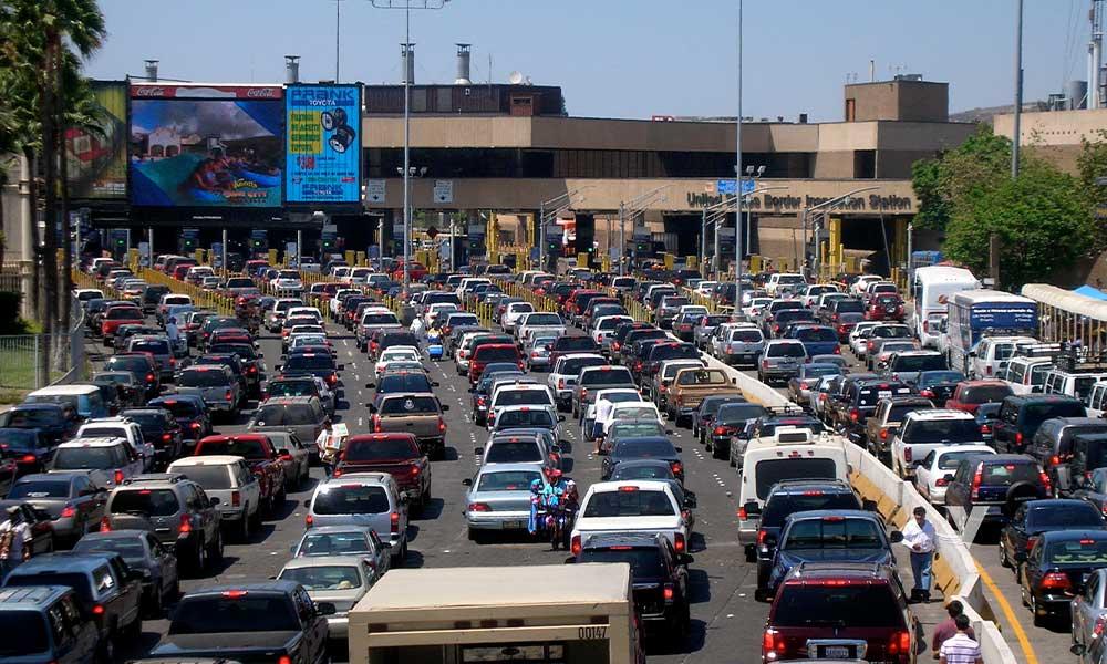 Será parcial el flujo de vehículos Ready Lane de San Ysidro