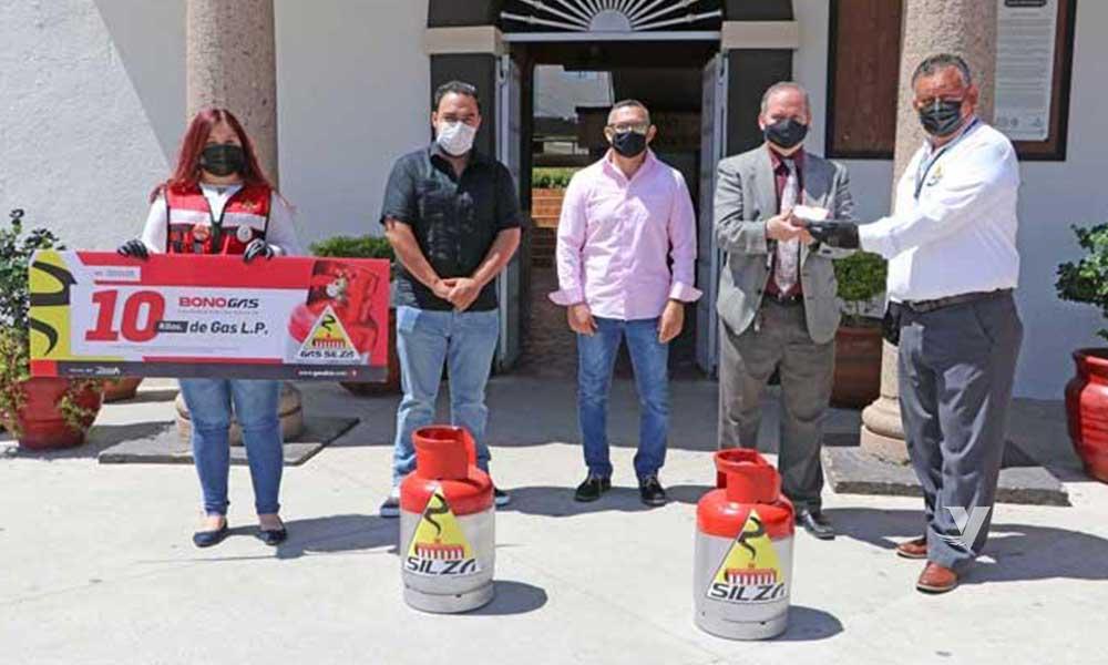 Entrega Silza vales de minas de gas al XXIII Ayuntamiento de Tecate