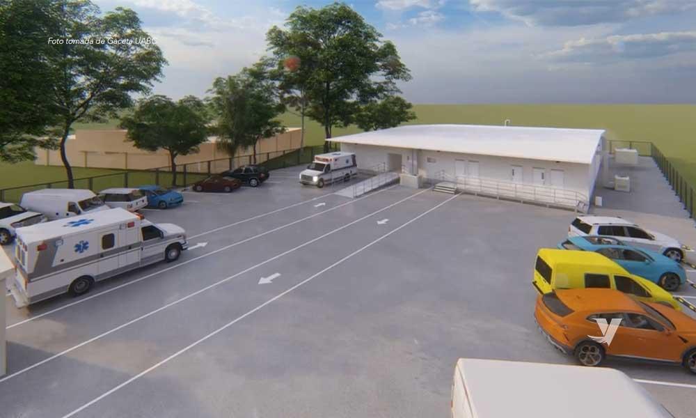Abrirá UABC Hospital Móvil Universitario para atención de pacientes Covid-19