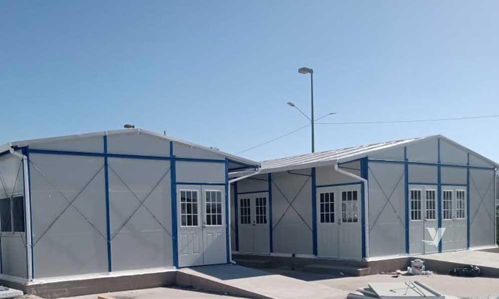 Colabora IMSS y Grupo Modelo para instalar hospital temporal en Tijuana