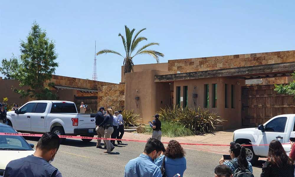 Catean residencia del Ex Gobernador de BC 'Kiko' Vega en Tijuana