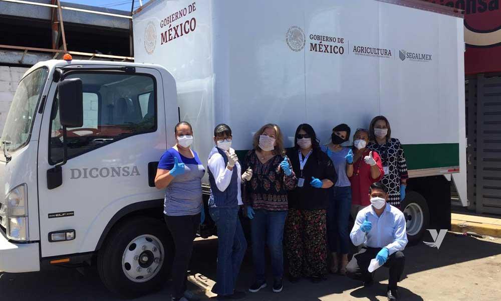 Ponen en marcha tiendas móviles de Segalmex-Diconsa-Liconsa en Baja California