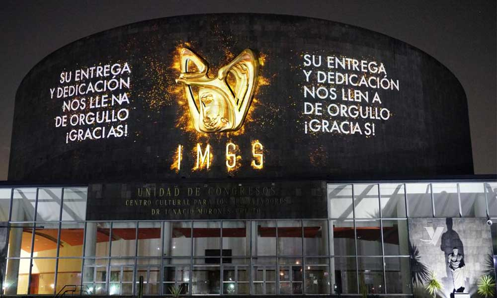 """Reconocen al personal de salud del IMSS con el """"Mural a los Héroes de la Salud"""""""