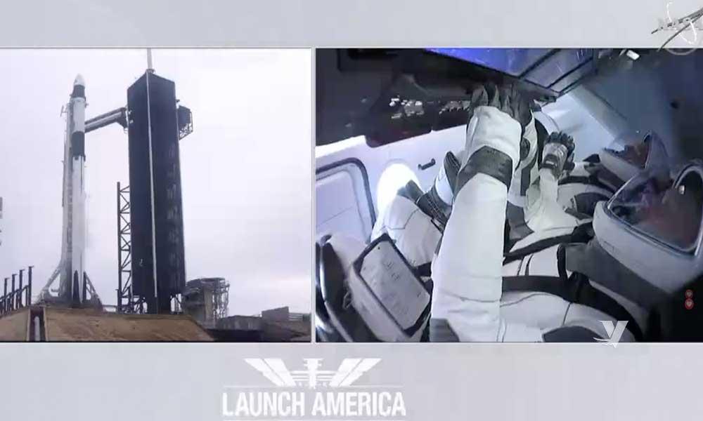 NASA y SPACEX cancela lanzamiento del cohete Falcon 9