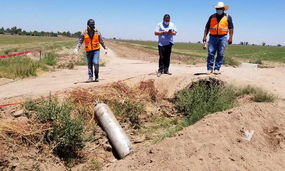 Recuperan tanques de Gas Cloro robados el día de ayer