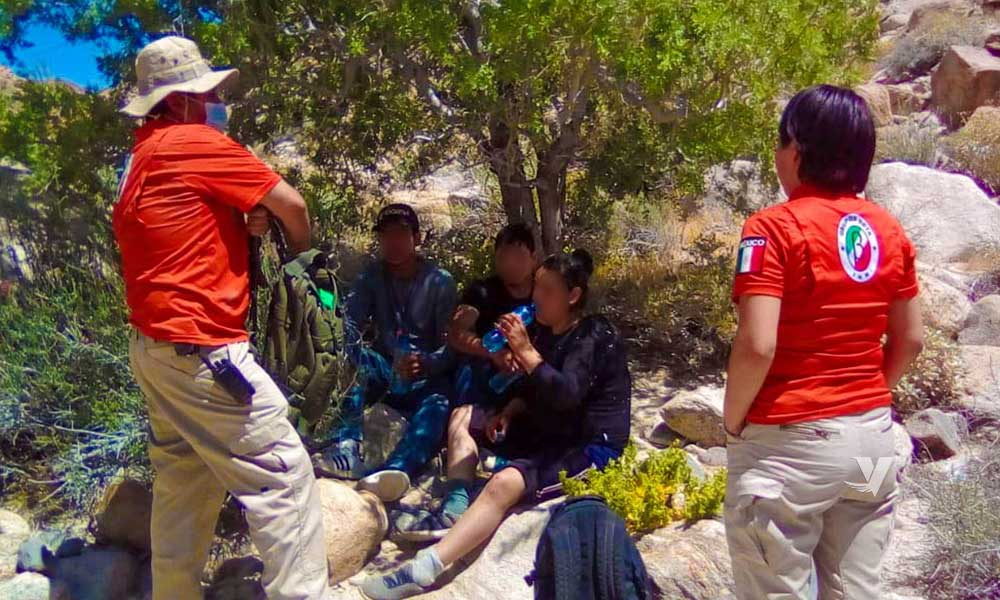 Rescata Grupo BETA a personas migrantes