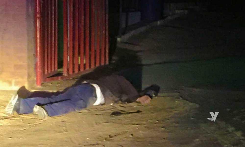 Policía dispara contra un hombre en Tecate