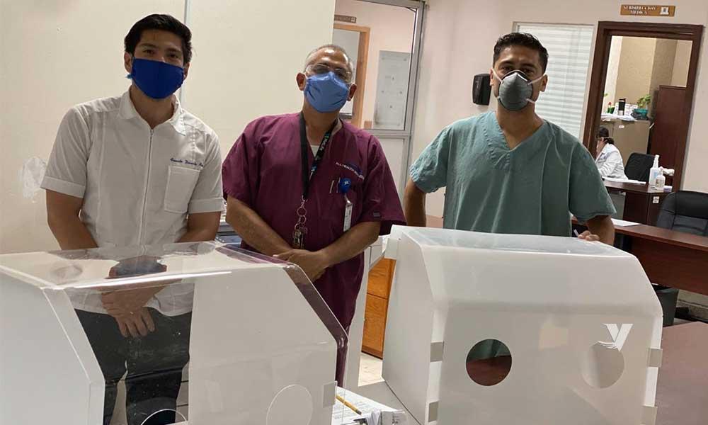 UABC dona 20 cámaras de intubación a Hospital General de Mexicali