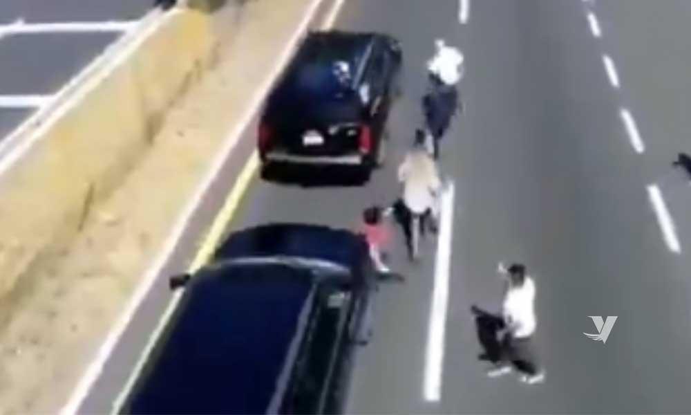 Camioneta que acompaña al presidente López Obrador atropella a hombre en Tlaxcala