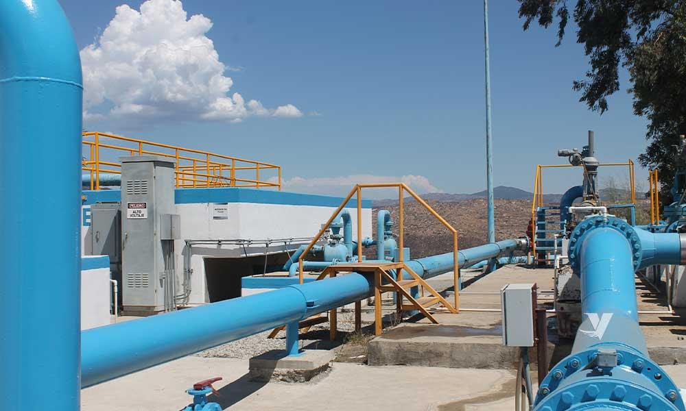 Suspensión de suministro de agua en Nueva Colonia Hindú