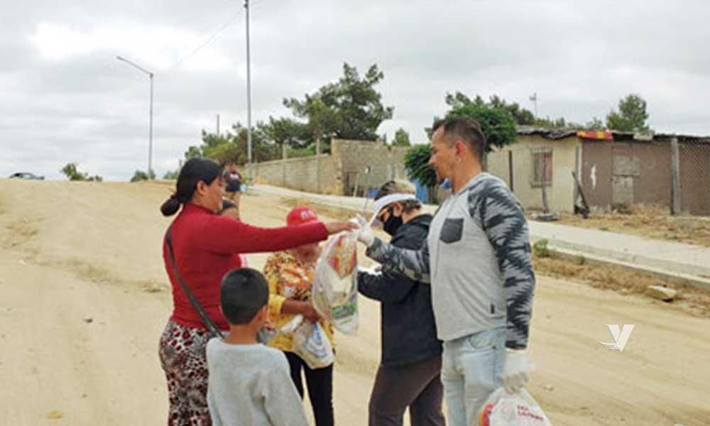 Entregan 5 mil 720 despensas a familias vulnerables de Tecate