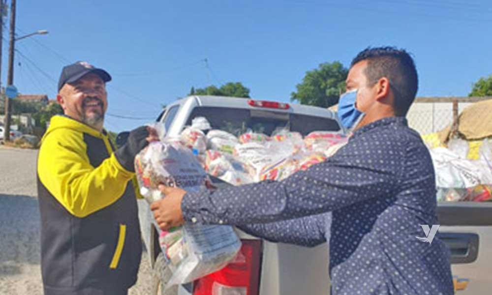 83 MIL 641 despensas entregadas a familias vulnerables de Tecate