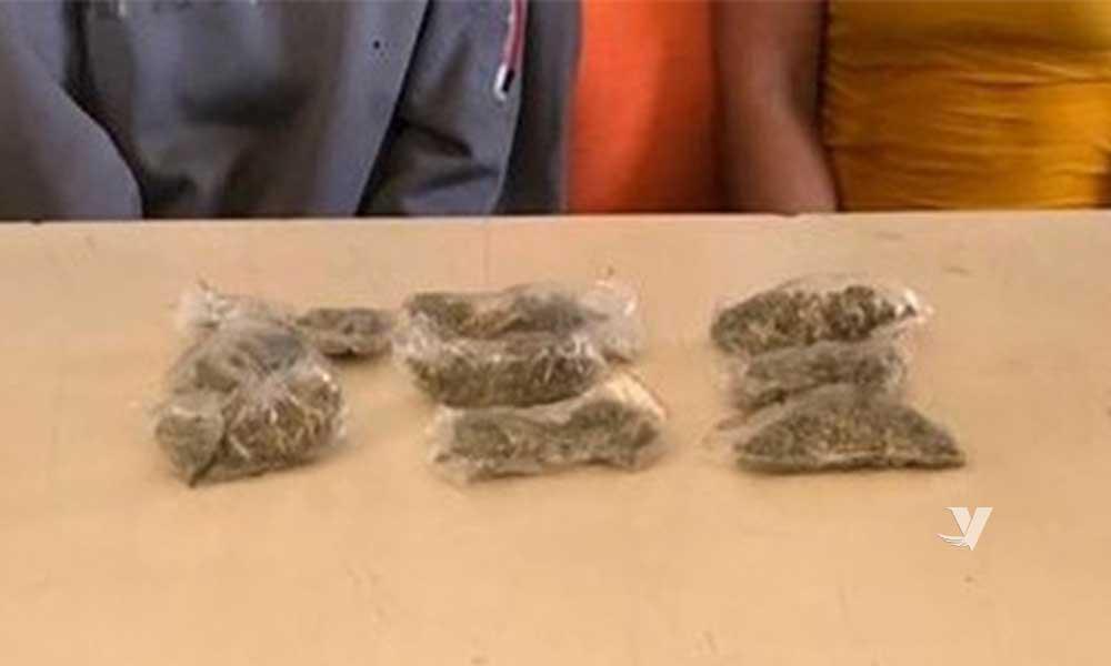 Detienen FGE a 7 personas con drogas tras cateo a vivienda