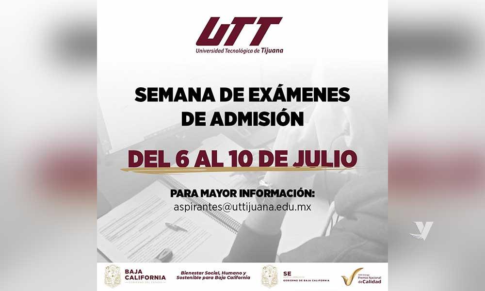 Actualiza UTT sus fechas de proceso de nuevo ingreso